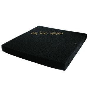 "Bio Sponge Filter Media Pad Cut-to-fit Foam 17"" or 23"" for Aquarium Fish Tank"