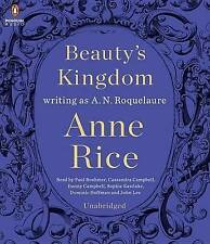 NEW! Anne Rice Beauty's Kingdom by A. N. Roquelaure Unabridged Audio Book