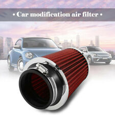 1x Cold Air Filter Intake Induction Clamp Kit Cone Shape 76mm 3 Inch Washable
