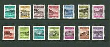 JERSEY 1982 D33-46 JERSEY HARBOURS POSTAGE DUE COMPLETE SET -  MNH