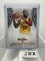 LEBRON JAMES - Cleveland Caveliers - EXCALIBUR - PANINI Card KNIGHT COURT no. 30