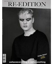 Re-Edition Magazine # 4 SS 2016 COLIR COLLIER SCHORR ROBBIE SPENCER Harley Weir