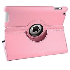 Stand Smart Case Cover 360° Rotating Apple iPad2 3 4 Air 5 6 Pro Mini PU Leather