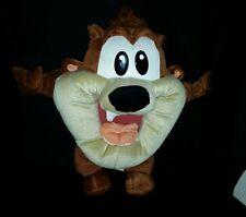 "19"" Warner Bros Baby TAZ Tasmanian Devil Stuffed Plush Looney Tunes Six Flags"