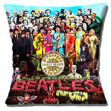 ALBUM DEI BEATLES Copricuscino IL SERGENTE Peppers LONELY Hearts Club Band 16 in (ca. 40.64 cm) 40 cm
