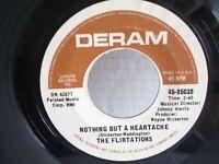 "The Flirtations,Deram85038,""Nothing But A Heartache""US,7""45,Northern Soul,1969,M"