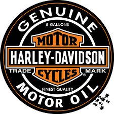Harley Davidson Genuine Motor Oil Collectors Edition Jigsaw 1000 piece