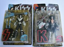 Kiss, 2 Ultra-Action Figures Gene + Ace in Packs 1997