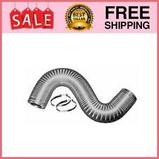 V430 Readi-Pipe Flexible Semi Rigid Aluminum Dryer Vent Duct, 4-inch by 8-foot