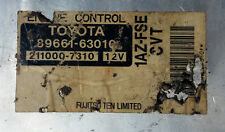 Toyota 89661-63010 1AZ-FSC Engine control unit Ecm Oem Jdm used