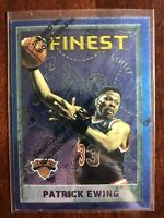 1995-96 Topps Finest Patrick Ewing #243 NBA Premium Basketball Card NY Knicks