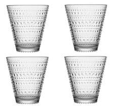 Kastehelmi Tumblers Set of 4 Clear 0.3 L Iittala