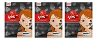 Yes To Tomatoes Detoxifying Charcoal DIY Powder to Clay Mask 1 Ct (3 Pack)