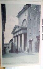 Cartolina Perugia Castiglion del Lago 1920ca  chiesa       13/11/16