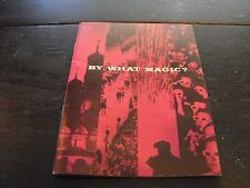 Vintage mid-Century Life Magazine Advertising Insert Brochure By What Magic?