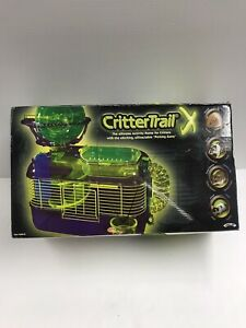 "Critter Trail Xtreme - Home And Activity For Critters- Detachable ""Petting Zone"""