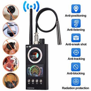 K68 Wireless RF Signal Detector Anti-spy Wiretap Sound Camera GPS Scan Tracker