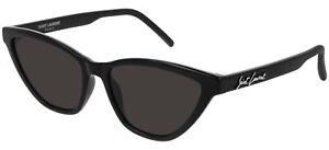Saint Laurent SL 333 Black/Grey 56/17/145 women Sunglasses