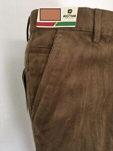 Pantalon Velours  Droit coupe classique doublé polaire extensible du 40 au 60