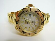 Invicta Grand Diver Men's Watch Automatic Gold 47mm 3052