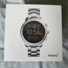 NEW IN BOX FOSSIL EXPLORIST Q GEN 3 SMARTWATCH STAINLESS STEEL FTW4000