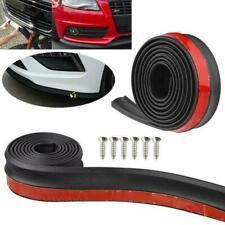 Car Front Bumper Lip Splitter Body Side Spoiler Protector Rubber Universal R6U2