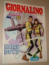 IL GIORNALINO=1981/12=KRISS BOYD=TARCISIO BURGNICH=ALICE CARLA BISSI=INSERTO=