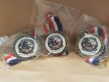 Lot of 3 California Festival of Beers Medals & Ribbons In Original Packaging   R