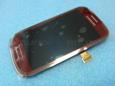 Samsung GT-I8200 Galaxy S3 Mini VE Display LCD Touchscreen+Rahmen Rot