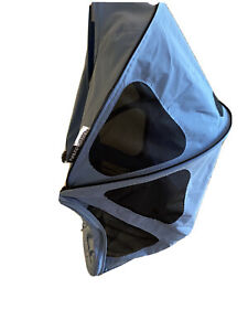 Brand New Bugaboo Donkey Breezy Sun Canopy - Ice Blue - NWT