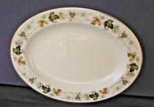 "Royal Doulton English Translucent China ""Larchmont"" 13 1/4"" Platter #T.C. 1019"