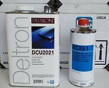 Genuine Ppg Clearcoat Deltron 1 Gallon Dcu2021 Hardener 1 Qtdcx61 New