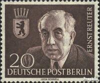Berlin (Ouest) 115 (édition complète) oblitéré 1954 Dr. ernst reuter
