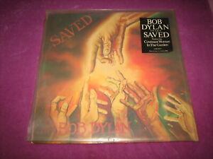 BOB DYLAN - SAVED - CBS UK 1980 MINTY ORIGINAL W/HYPE STICKER & PIC INNER BAG
