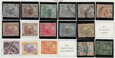 16 Malaya Fed. Malay States Stamps from Quality Old Antique Album 1922-1932