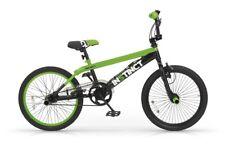 BICICLETTA 20 BMX INSTINCT MBM BICI FREESTYLE VERDE ELETTRICO E NERO BIKE