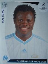 Panini 177 Taye Taiwo Olympique Marseille UEFA CL 2009/10