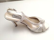Touch Ups - Bridal / Wedding Sling Back Shoes - Size 4