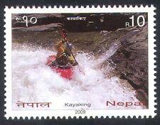 Nepal 2009 Canoa/Kayak/barcos/Deportes/canotaje/kayak 1 V (n40095)