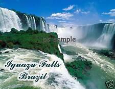 Brazil - IGUAZU FALLS - Travel Souvenir Flexible Fridge Magnet