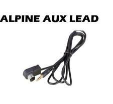 Cables de interfaz y entrada auxiliar para coches Alpine