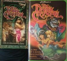 The Dark Crystal (VHS,1994) Rare Jim Henson's plus The 1999 DARK CRYSTAL