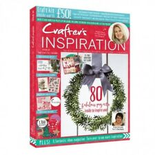 CRAFTERS INSPIRATION MAGAZINE ISSUE 20 - 2018 WITH FREE £50 CRAFT KIT DIE STAMPS