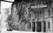 Old Photo.  Bristol, UK.  Clifton Rocks Railway Station