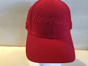 Cleveland Unisex Hat Golf Baseball New Red