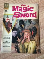 Dell The Magic Sword Comic 1962 G-VG Photo Cover