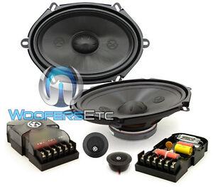 "MEMPHIS PRX57C 5""x7"" 6""x8"" COMPONENT SPEAKERS TWEETERS CROSSOVERS CAR AUDIO NEW"