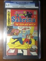 Sabrina the Teen-Age Witch #1  (1971) - Premiere Issue! - CGC 6.5!