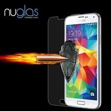 NEW Tempered Glass Film Screen Protector for Samsung Galaxy S6 Premium NuGlas