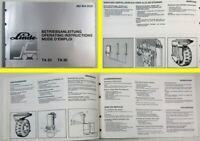 Linde TA20 TA30 Gabelstapler Betriebsanleitung Operating Instructions